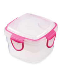 Crofton Snack Container - Pink
