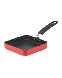 Crofton Square One Egg Frying Pan - Red