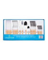 Crofton Steak Cutlery Set