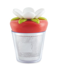Crofton Tea Infuser Flower - Red