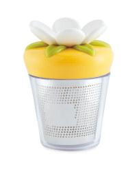 Crofton Tea Infuser Flower - Yellow