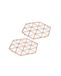 Crofton Trivets 2 Pack - Copper