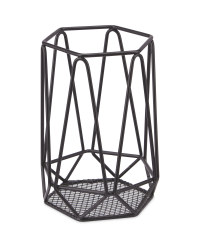 Crofton Utensil Holder - Matt Black