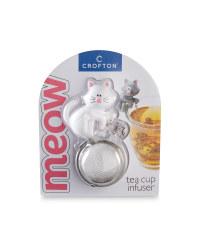 Crofton White Cat Tea Infuser