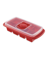Crofton XL Ice Cube Tray - Red