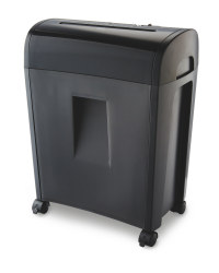 Cross Cut Paper Shredder - Black