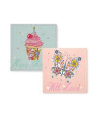Cupcake & Flowers Cards
