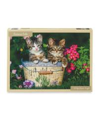 Curious Cats 1000 Piece Puzzle