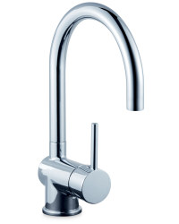 Curved Kitchen Mixer Tap
