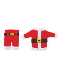 Santa Cutlery Holders 6 Pack