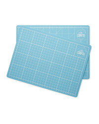 So Crafty Cutting Mats Twin Pack - Blue