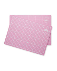 So Crafty Cutting Mats Twin Pack - Pink