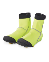 Cycling Pro Heavy Duty Overshoes - Yellow