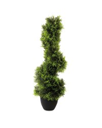 Artificial Cypress Topiary Spiral