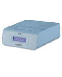 DAB Alarm Clock Radio - Blue