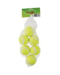 Mini Dog Tennis Balls 6 Pack