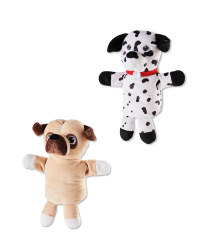 Dalmation & Pug Hand Puppets