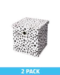Dalmation Storage Cube 2 Pack