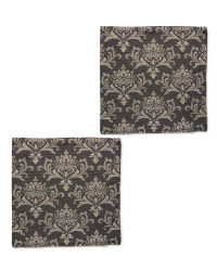 Damask Cushion Covers 2-Pack
