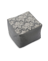 Damask Tapestry Bean Cube