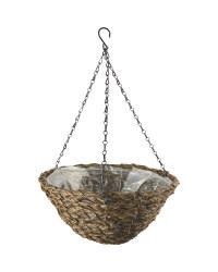 """Dark Basket Hanging Basket 14"""""""