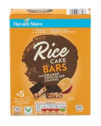 Dark Chocolate & Orange Rice Cakes