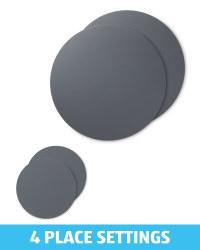 Dark Grey Placemat & Coaster Bundle