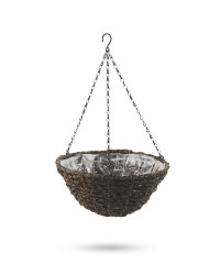 Dark Hanging Basket