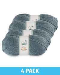 Dark Teal Double Knit Yarn