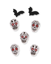 Day of the Dead Gel Stickers