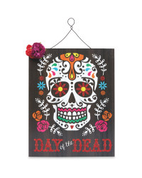 Day of the Dead Hanging Plaque
