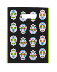 Day of the Dead Loot Bags 12-Pack