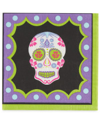 Day of the Dead Napkins 12-Pack