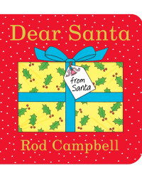 Dear Santa Christmas Board Book