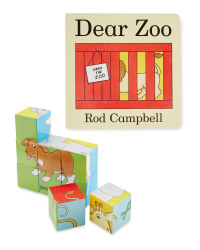 Dear Zoo Book & Puzzle Blocks