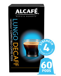 Decaf Lungo Coffee Pods 6 Pack