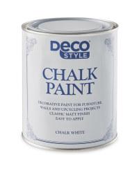Deco Style Chalk White Paint
