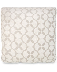 Decorative Cushion - Circles - Cream