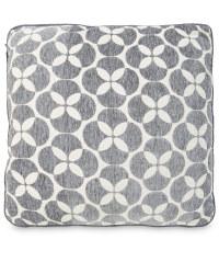 Decorative Cushion - Circles - Grey