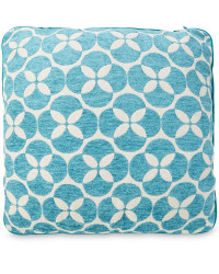 Decorative Cushion - Circles - Teal