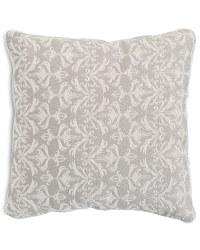 Decorative Cushion - Damask - Cream