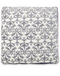 Decorative Cushion - Damask - Grey