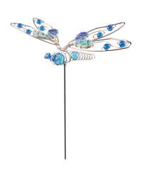 Decorative Dragonfly Garden Stake
