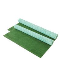 Decorative Grass Look Carpet 2 Pack