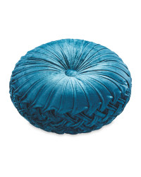 Kirkton House Round Cushion - Teal