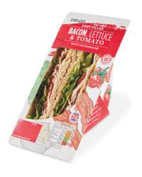 Deep Filled Blt Sandwich