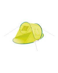 Crane Deep Pop-Up Sun Shelter - Lime
