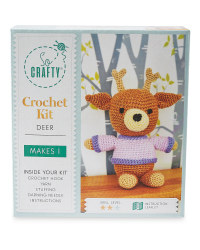 So Crafty Deer Crochet Kit