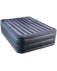 Deluxe Air Bed With Pump - Grey