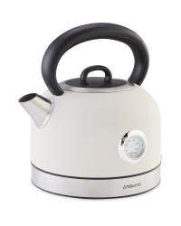 Ambiano Dial Kettle - Cream